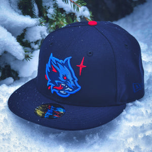 Noble North - Winter Wolf - Navy New Era 59Fifty - Front