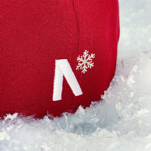 Frost-Eh - Red & Icy Silver New Era 59Fifty - Back