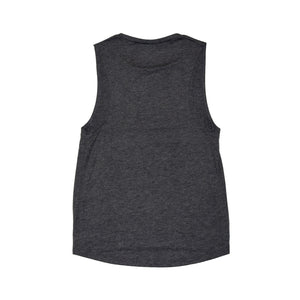 Noble North - Heritage - Ladies Charcoal Heather Scoop Tank - Back
