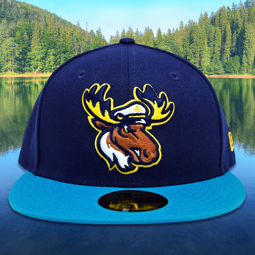 Lake Captain's - Light Navy & Blue New Era 59Fifty - Front