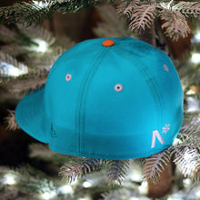 Frost-Eh The Snowman - Neon Blue New Era 59Fifty - Back