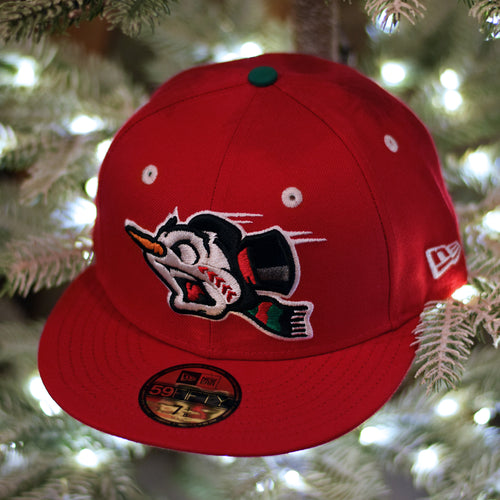 Frost-Eh The Snowman - Red New Era 59Fifty - Front