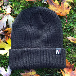 Noble North - North Star - Black Longshoreman Beanie