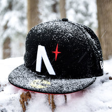 Load image into Gallery viewer, North Star - Black Cotton Canvas New Era 59Fifty - Front