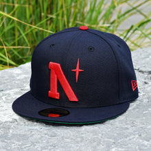 Load image into Gallery viewer, North Star - Heritage - Navy New Era 59Fifty - Front