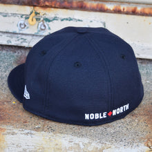 Load image into Gallery viewer, Noble North - North Star - Navy New Era 59Fifty - Back