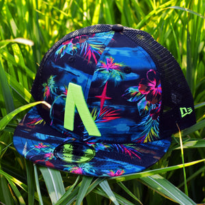 North Star - Tropical New Era 9Fifty Mesh Snapback - Front