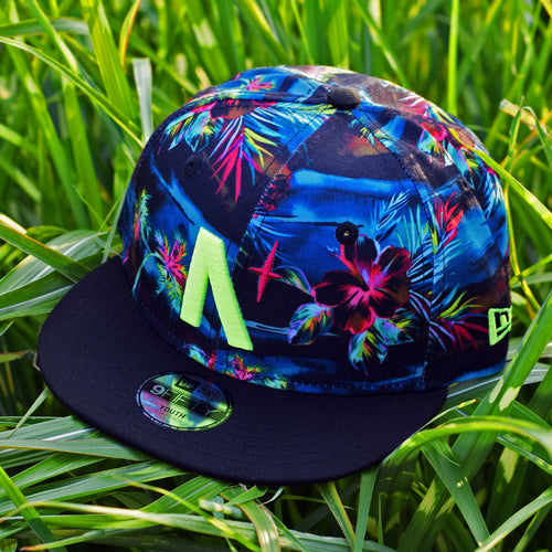 North Star - Kids Tropical New Era 9Fifty Snapback - Front