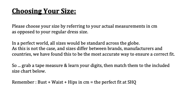 Choosing My Size  Measuring Tips For Lingerie Saucy HQ