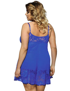 R80158-3P Evie Baby Doll blue plus size back Image saucy hq