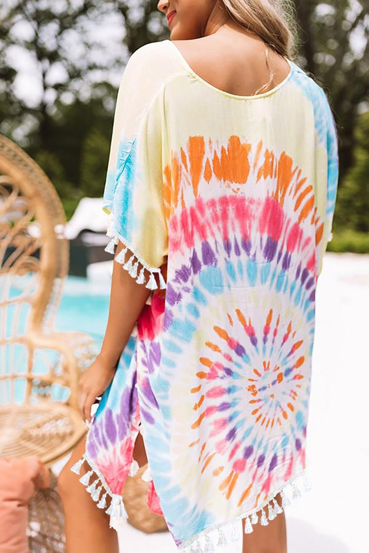 Riley Tie Dye Beach Cover