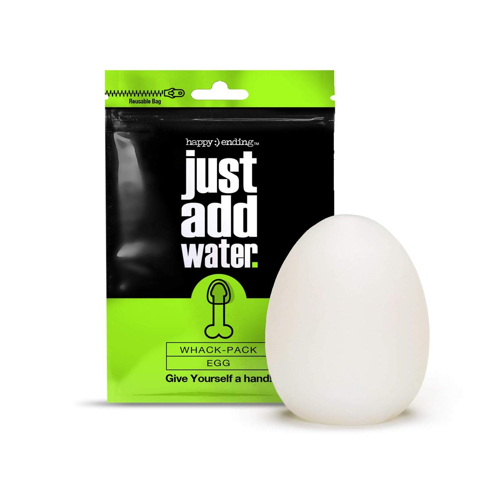 Just Add Water Whack Pack Stroker For Him 3 Pack - Egg
