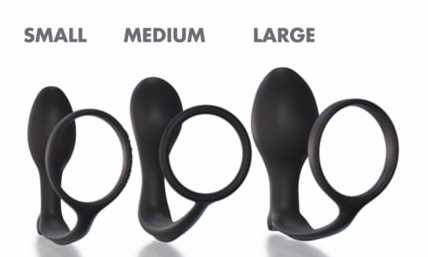 Anal Fantasy Ass Gasm Cock Ring Trainer Kit