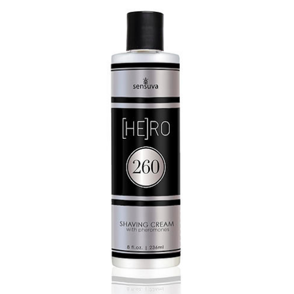 hero 260 Intimate shave cream sensuva front image saucy hq