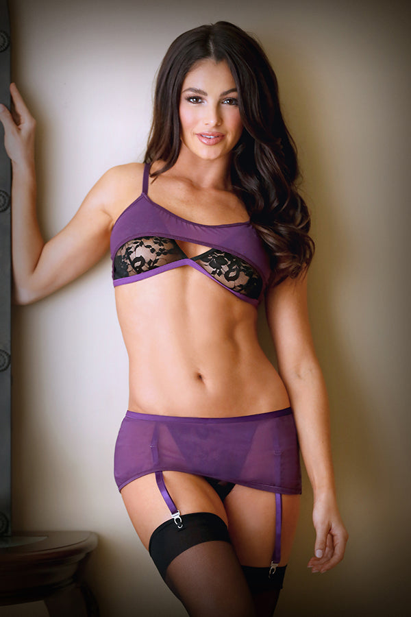 Erica Barlette & Skirted Panty Set