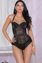 Load image into Gallery viewer, Indulge Satin & Lace Bustier