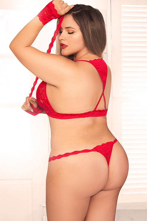 Red For You Lingerie Set