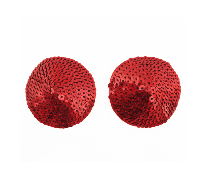 round sequin nipple covers red front image saucy hq