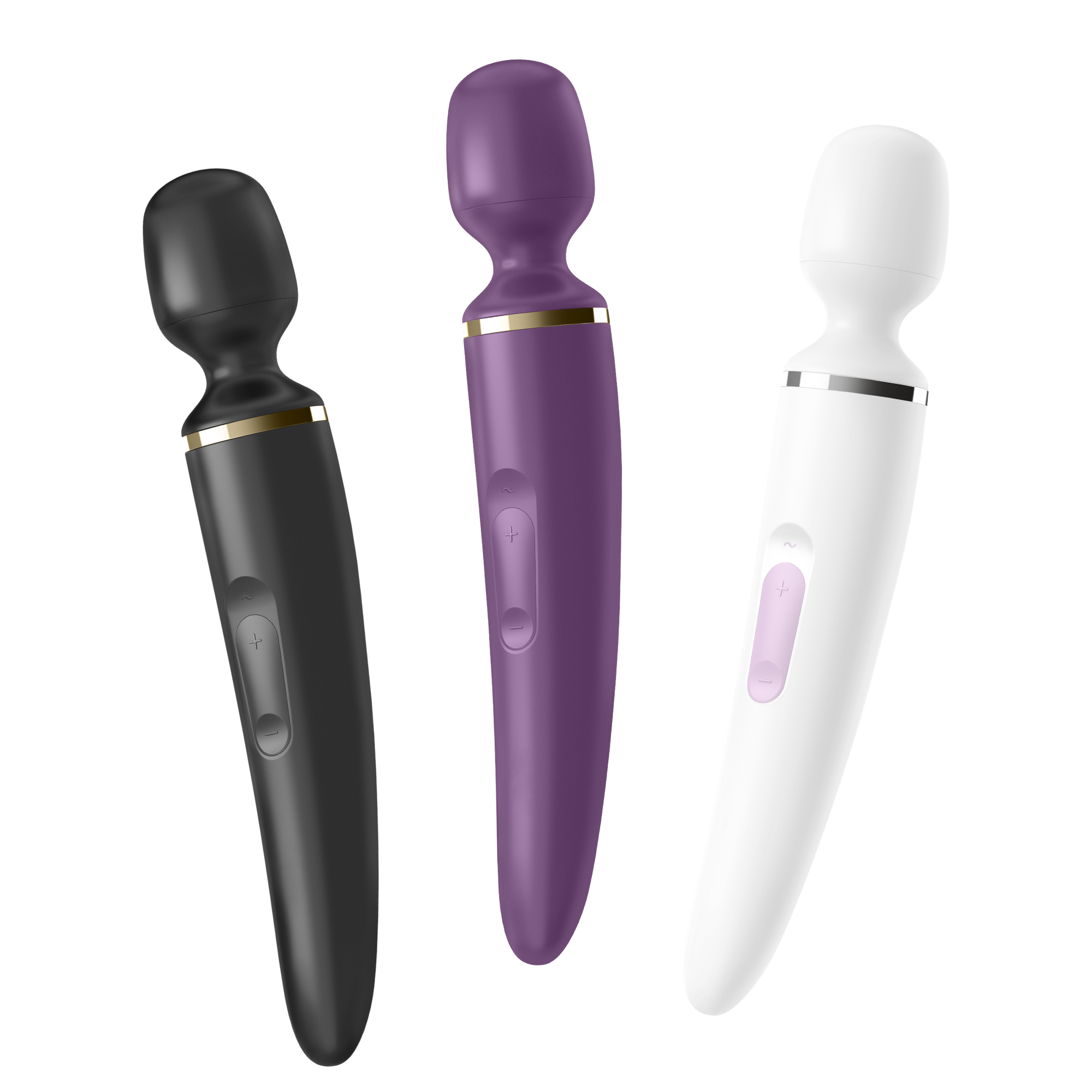 Satisfyer Wand-Er Woman -  USB Rechargeable Massager Wand front image saucy hq
