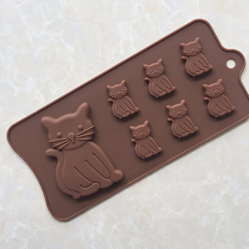 Silicone decorating molds