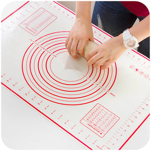 Circle template Silicone Non-Stick Baking Mat - MY CAKE PLACE