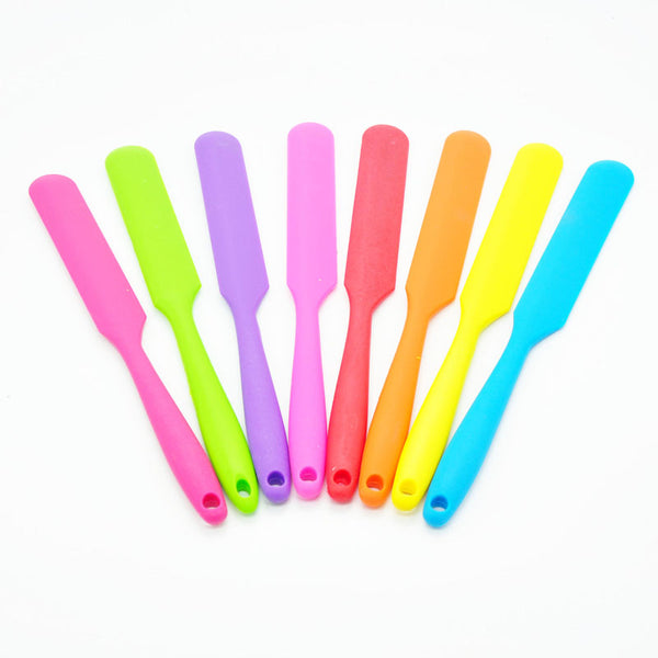 Long Handle Silicone Spatula Cake Cream Mixer Baking Batter Scraper 8 colors to choose from! - MY CAKE PLACE