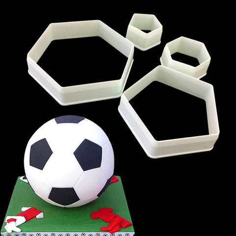 Soccer football cake mold - MY CAKE PLACE