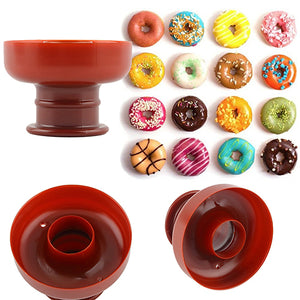 Artisan doughtnut maker shaper mold for donuts cakes cookies