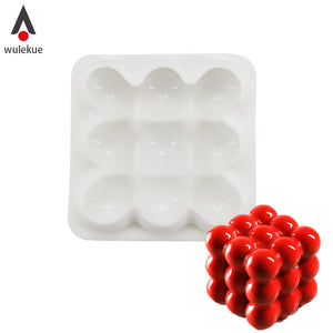 Silicone 3x3 sphere mold