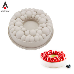 Silicone Cherry bubble crown Cake Mold
