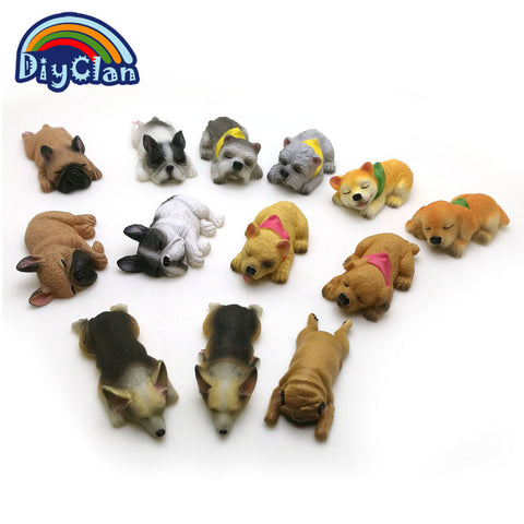 silicone dog shape cake decorating Corgi Bulldog fondant chocolate clay sugarcraft mold - MY CAKE PLACE
