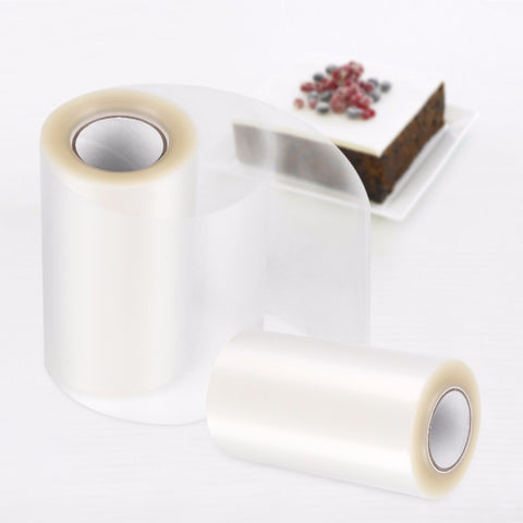 Transparent Clear Mousse Surrounding Edge Wrapping Tape collar for baking cake - MY CAKE PLACE