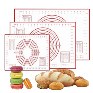 Silicone Non-Stick Baking Mat with circle template - MY CAKE PLACE