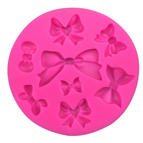 Silicone bow mold for cake decorating, fondant and polymer clay - MY CAKE PLACE