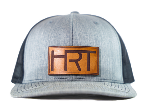 HRT Leather Patch Hat