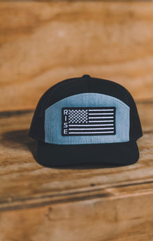 Rise American Flag Snap Back