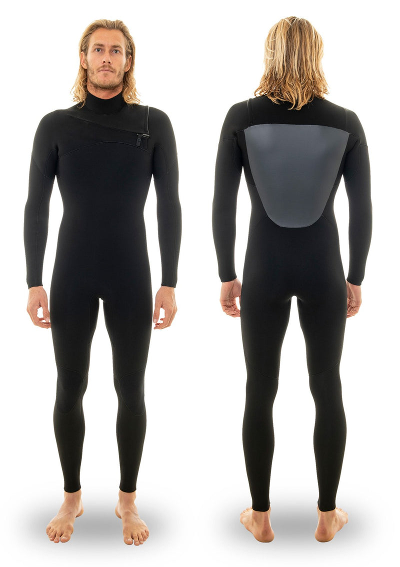 Mens 5/4 Thermal Chest Zip Wetsuit