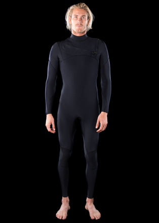 Mens 3/2 Premium Chest Zip Wetsuit