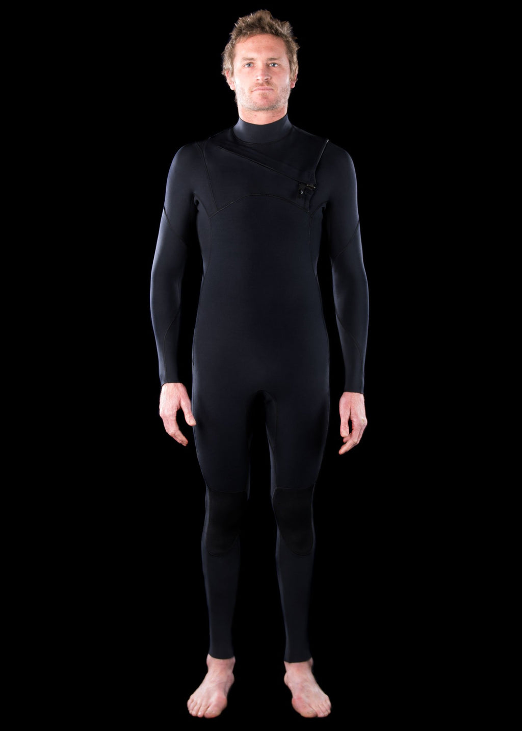 Mens 3/2 Fast Dry Chest Zip Wetsuit