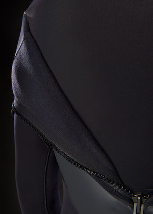 Mens 3/2 back zip neoprene