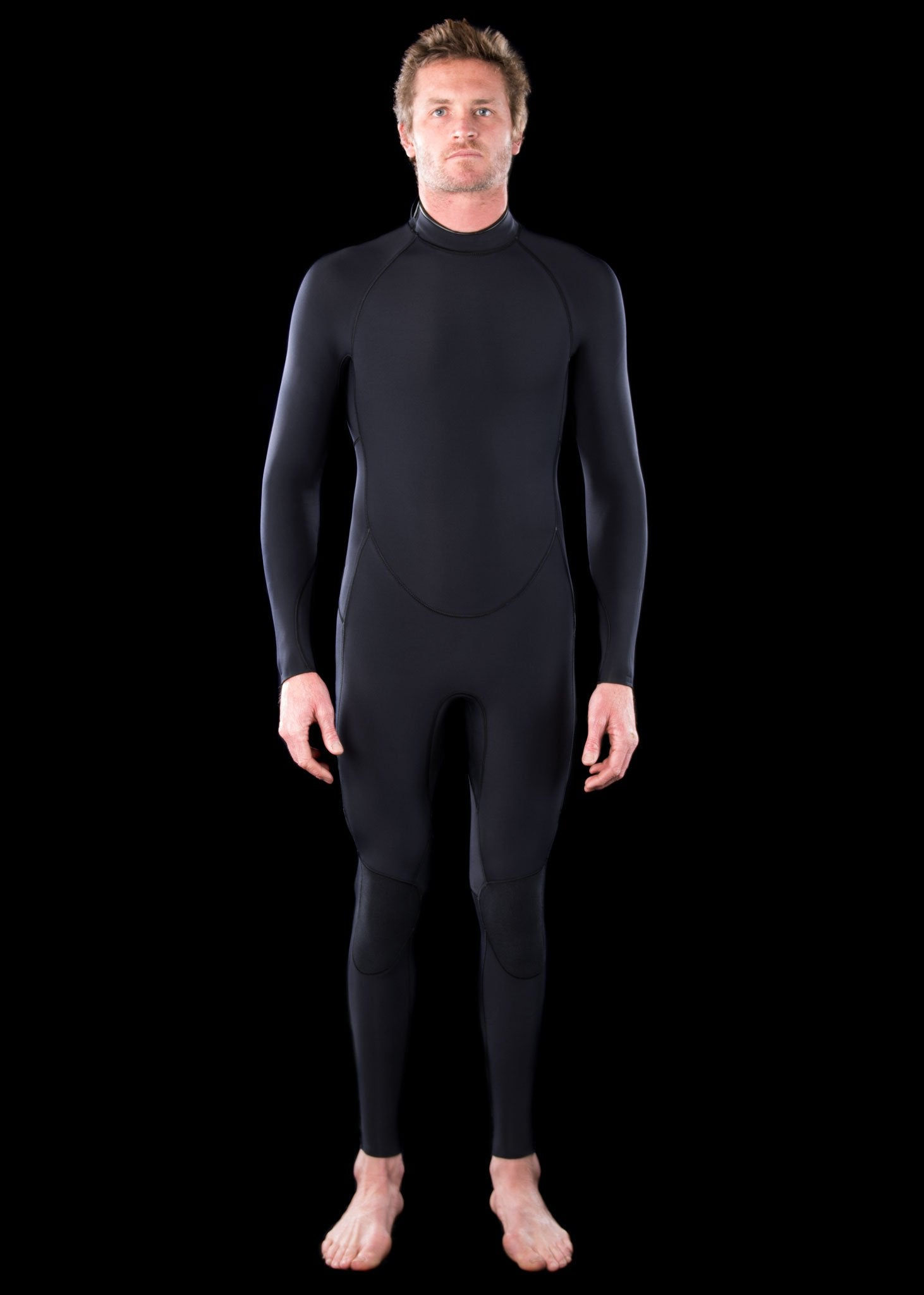 needessentials wetsuits premium Mens 4/3 Backzip Wetsuit