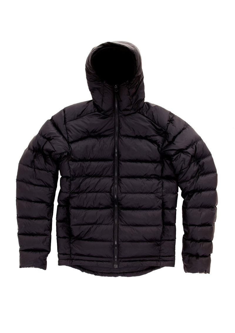 needessentials down jacket puffer winter non branded black
