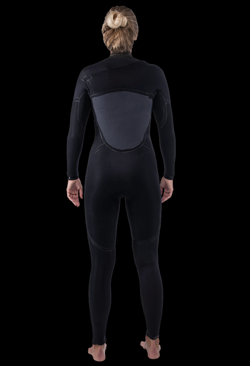 Womens 5/4 Premium Thermal Chest Zip Wetsuit
