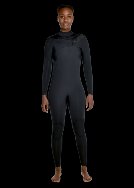 Womens 3/2 Premium Chest Zip Wetsuit