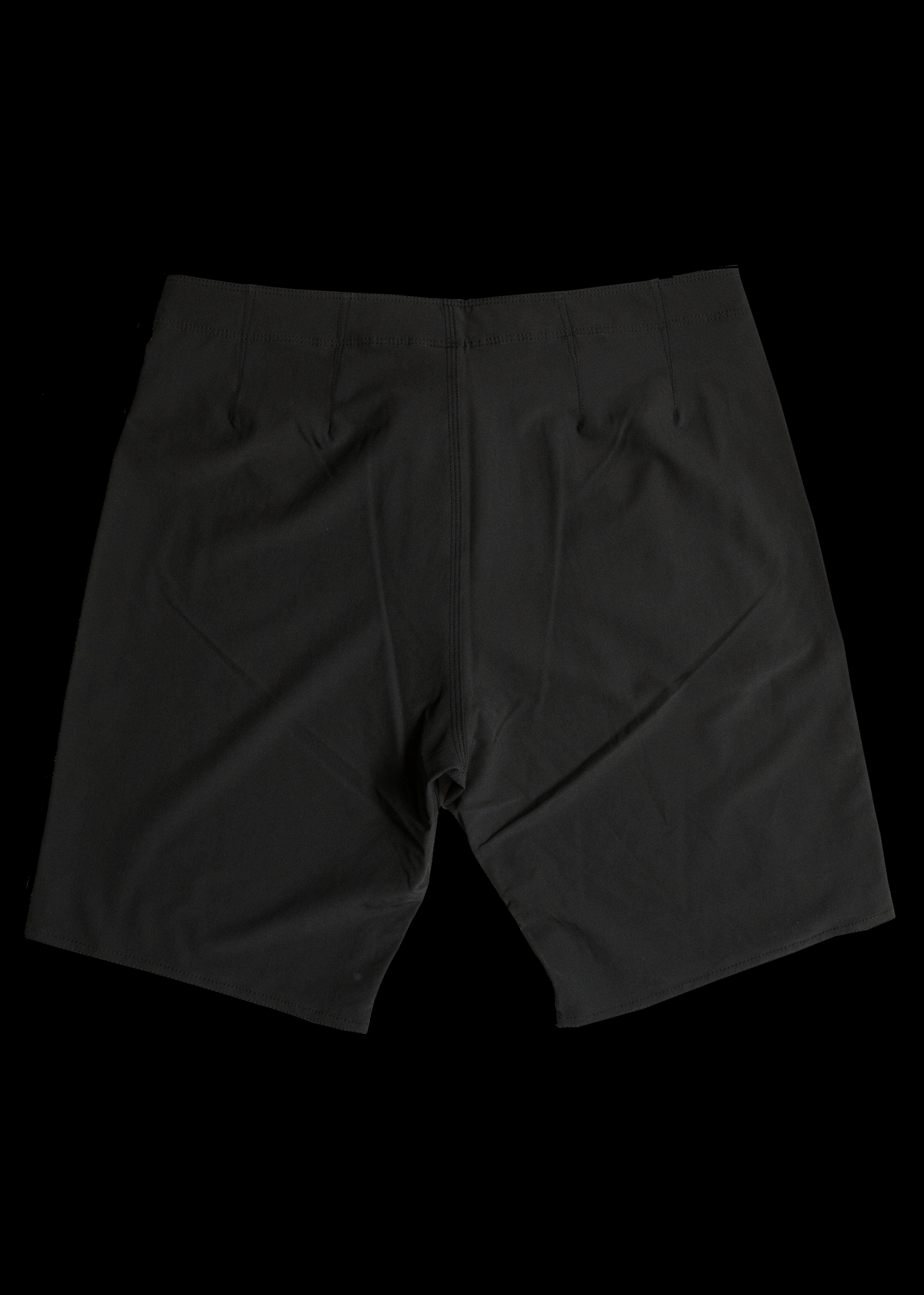 "19"" Black Lightweight Board Shorts"