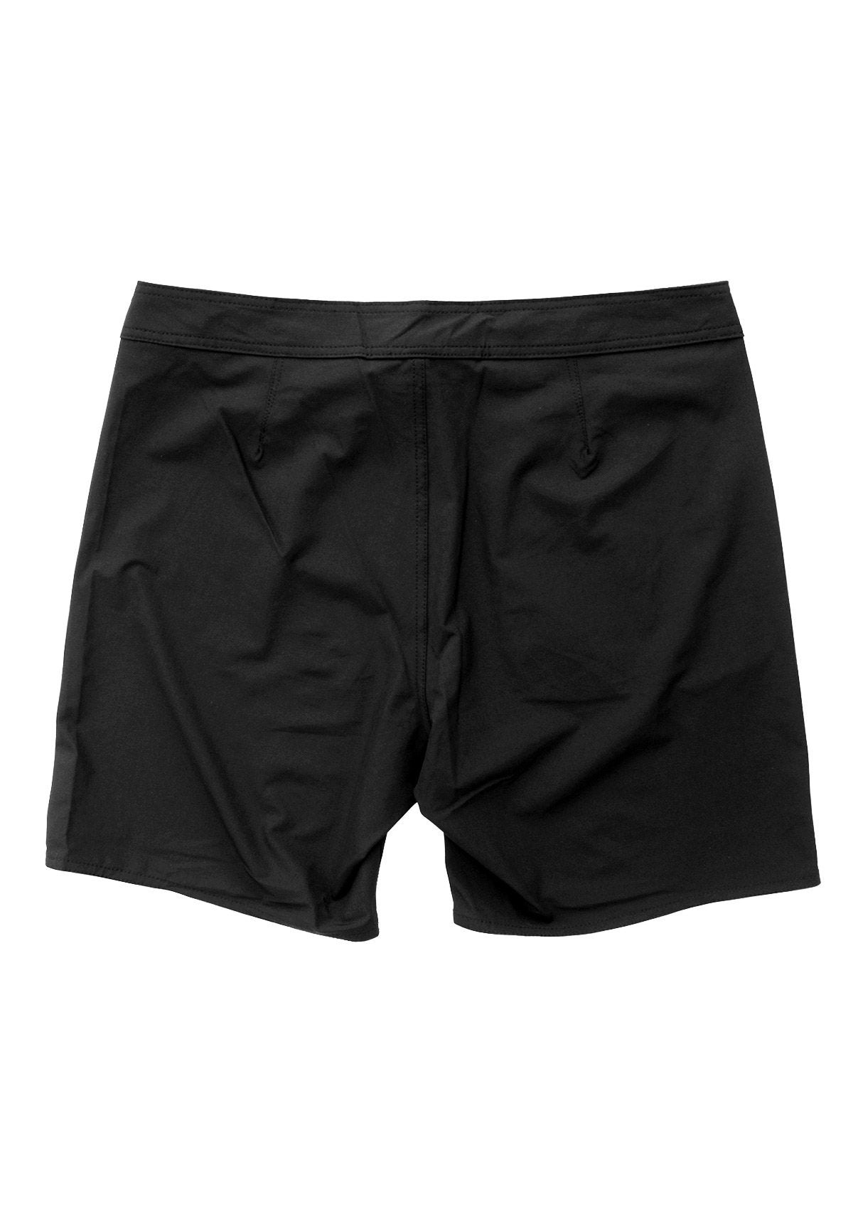 "17 "" Black Side Pocket Boardshort"