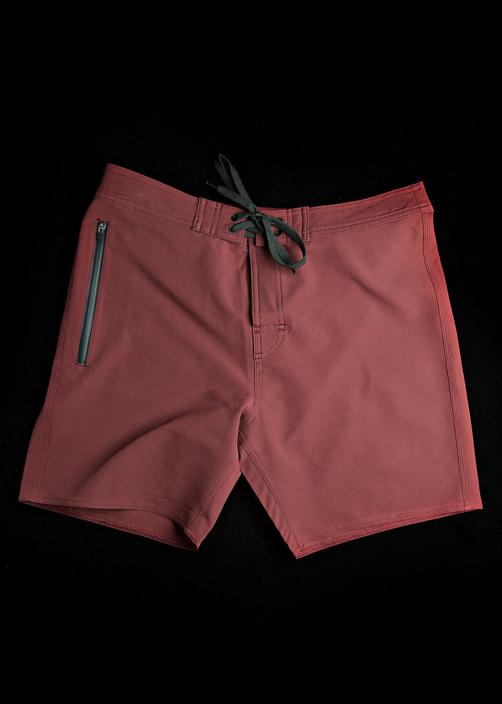 burgundy summer boardshorts by needessntials