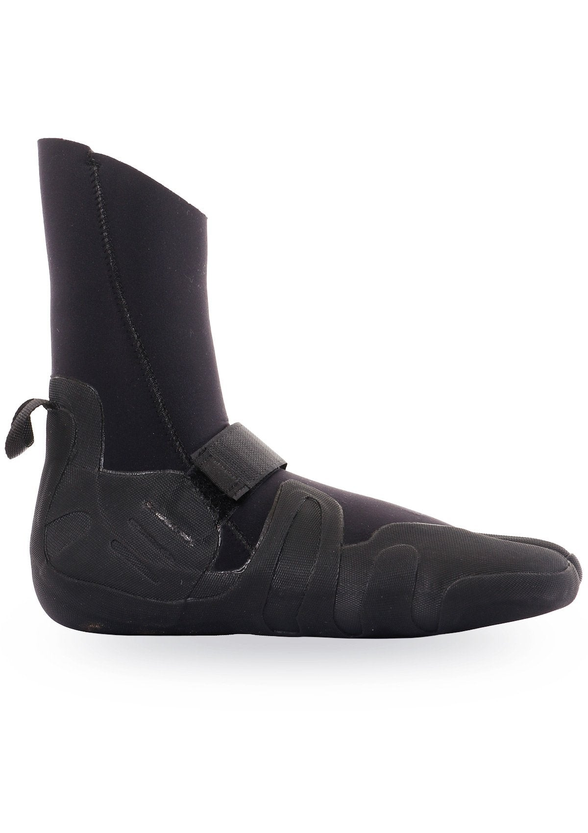 needessentials 6mm thermal booties winter surfing black non branded