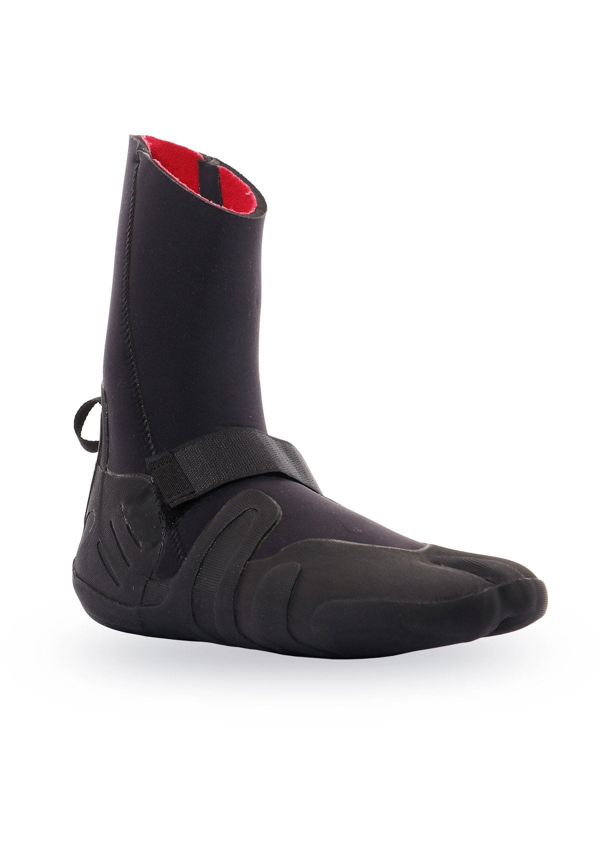 needessentials 6mm thermal booties winter surfing black non branded coldwater