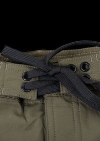 "17"" Olive Straight Leg Premium Board Shorts"